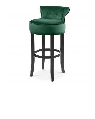 Taburete de bar Sophia Loren verde de Eichholtz