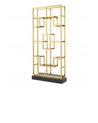 Estantería Lagonda de Eichholtz dorada