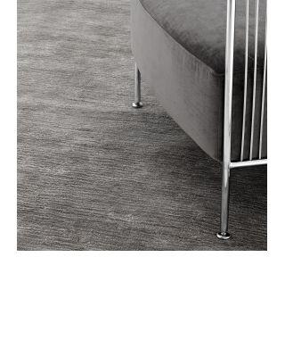 Alfombra 170 x 240 cm Liam de Eichholtz color gris plateado