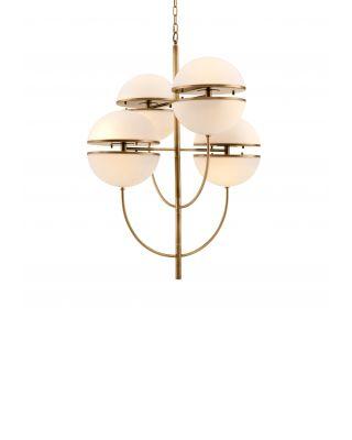 Lámpara de araña Spiridon de Eichholtz 16 fuentes de luz