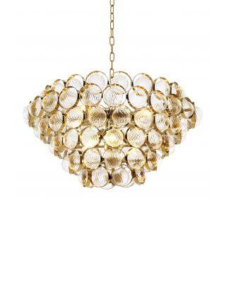 Lámpara de araña Opera de Eichholtz