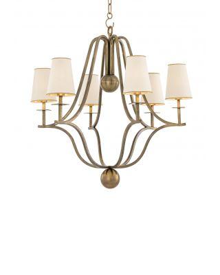 Lámpara de araña Valentina de Eichholtz