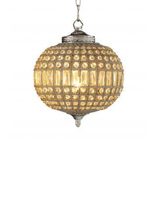 Lámpara de araña Kasbah Oval S de Eichholtz acabado niquelado