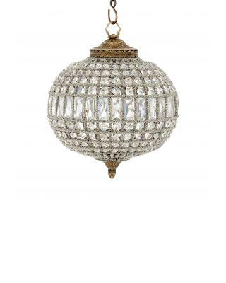 Lámpara de araña Kasbah Oval S de Eichholtz latón antiguo