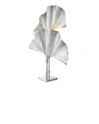Lámpara de mesa Las Palmas de Eichholtz acabado plateado