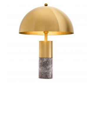 Lámpara de sobremesa Flair de Eichholtz con acabado de latón