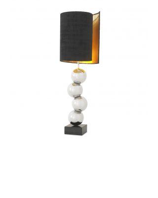 Lámpara de salón grande Aerion acabado níquel