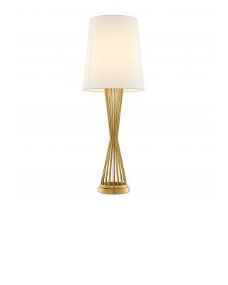 Lámpara de sobremesa Holmes de Eichholtz acabado dorado