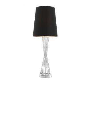 Lámpara de sobremesa Holmes de Eichholtz acabado niquelado