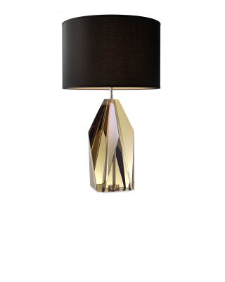 Lámpara Setail de Eichholtz cristal ámbar
