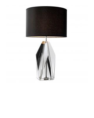 Lámpara Setail de Eichholtz cristal ahumado