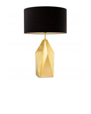 Lámpara Setail de Eichholtz cristal dorado