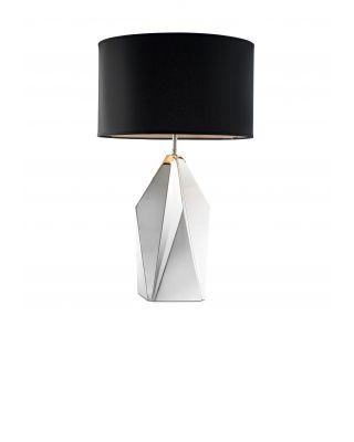 Lámpara Setail de Eichholtz cristal plateado