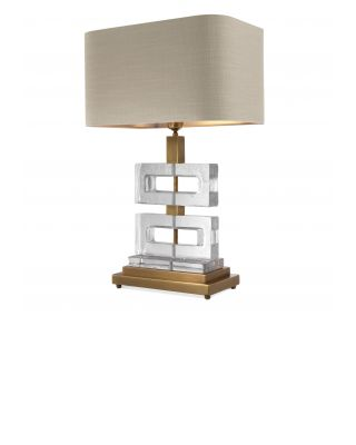 Lámpara de sobremesa Umbria de Eichholtz dorada