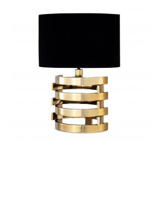 Lámpara de mesa Boxter S dorada de Eiccholtz