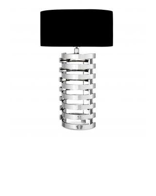 Lámpara de mesa Boxter L niquelada de Eiccholtz