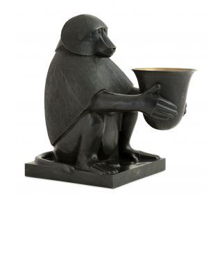 Lámpara Eichholtz Art Decó dios Toth