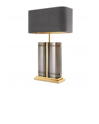Lámpara de sobremesa Solana de Eichholtz con acabado dorado