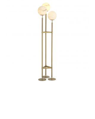 Lámpara de pie Fiori de Eichholtz