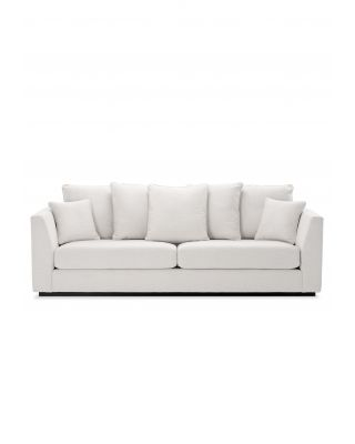 Sofá Taylor Lounge de Eichholtz tapizado blanco Avalon
