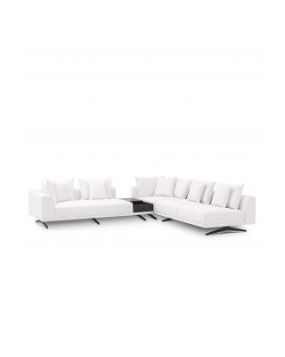 Sofá Endless blanco Avalon de Eichholtz