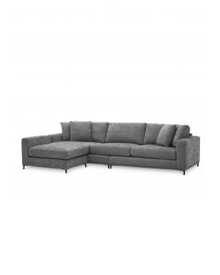 Sofá Ferraud Lounge gris Clarck de Eichholtz