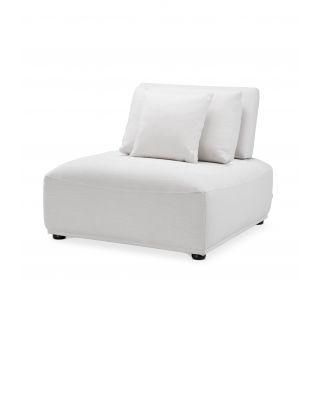 Sofá/Sillón Mondial de Eichholtz con tapizado blanco Avalon