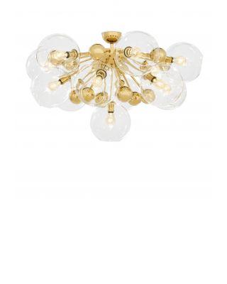 Lámpara de techo Soleil de Eichholtz acabado dorado