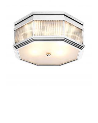Lámpara de techo Bagatelle de Eichholtz acabado de níquel