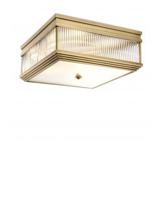 Lámpara de techo Marly de Eichholtz con acabado de latón cepillado