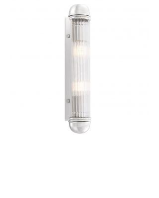 Lámpara de pared con acabado de níquel Auburn de Eichholtz