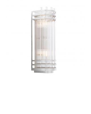Lámpara de pared Gulf S de Eichholtz con acabado niquelado