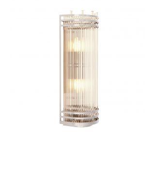 Lámpara de pared Gulf L de Eichholtz con acabado niquelado