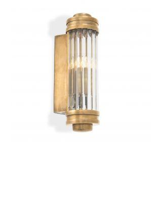 Lámpara de pared Gascogne XS de Eichholtz acabado latón antiguo