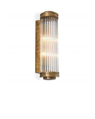 Lámpara de pared Gascogne L de Eichholtz acabado latón antiguo
