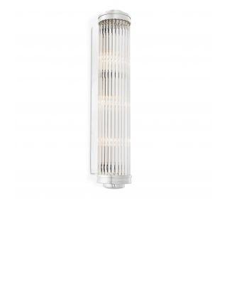 Lámpara de pared Gascogne XL de Eichholtz acabado niquelado