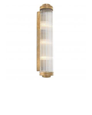 Lámpara de pared Gascogne XL de Eichholtz acabado latón antiguo