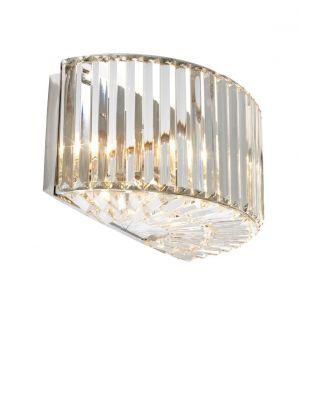 Lámpara de pared Infinity de Eichholtz acabado de níquel