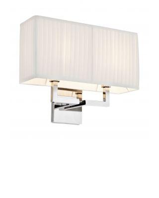 Lámpara de pared Westbrook de Eichholtz con acabado niquelado