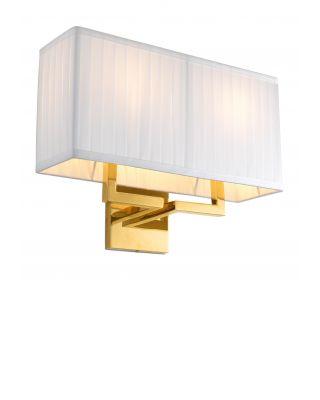 Lámpara de pared Westbrook de Eichholtz con acabado dorado