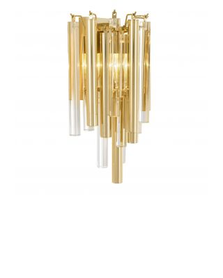Lámpara de pared Gigi con acabado dorado