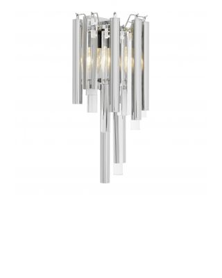 Lámpara de pared Gigi con acabado de níquel
