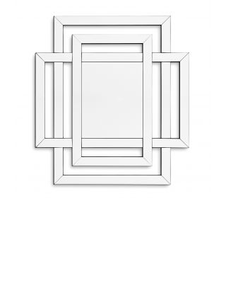 Espejo Mortimer de Eichholtz cristal de espejo