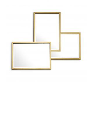 Espejo Sensation de Eichholtz con acabado dorado