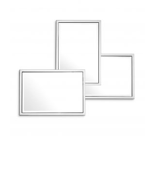 Espejo Sensation de Eichholtz con acabado niquelado
