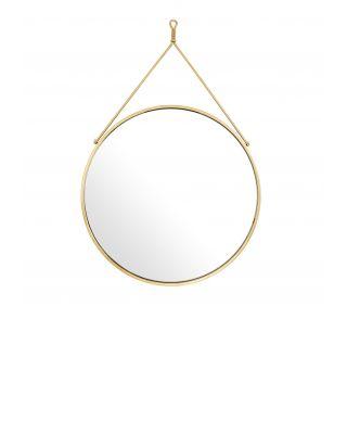 Espejo Morongo con acabado dorado de Eichholtz