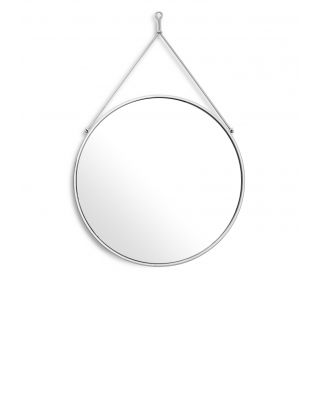 Espejo Morongo con acabado plateado de Eichholtz