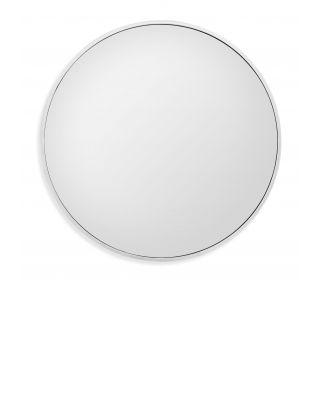 Espejo Heath con acabado de níquel pulido