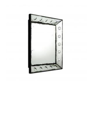 Espejo Madeira cuadrado 40 x 40 cm