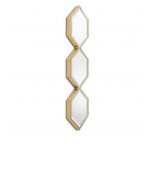 Espejo Saronno dorado de Eichholtz